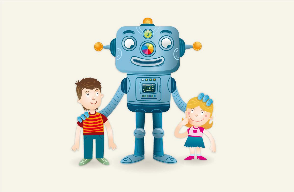 Robot-Bertik