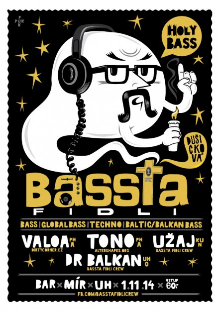 Plakáty Bassta Fidli