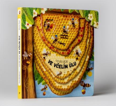 Kniha – Co se děje ve včelím úlu